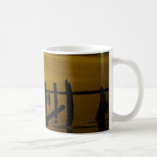 Sunset at Sperm Whale Head Coffee Mugs