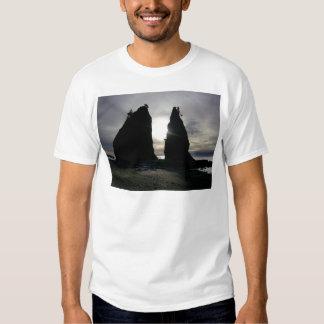 Sunset at Split rock Olympic National Park Shirt