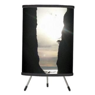 Sunset at Split rock Olympic National Park Tripod Lamp