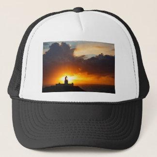Sunset at Strumble Head Lighthouse Trucker Hat