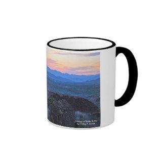 Sunset at Study Butte Ringer Mug