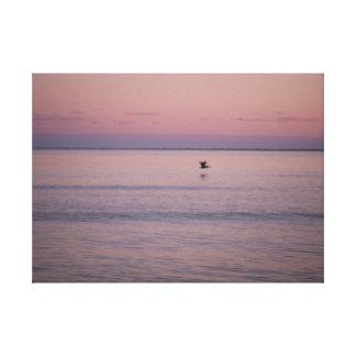 Sunset at Sullivan's Island Canvas Print