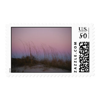 Sunset at Sullivan's Island, SC Postage