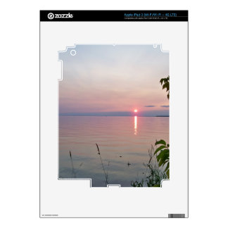 Sunset at Sunset Beach Park iPad 3 Skin