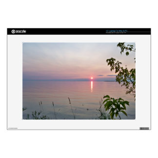 Sunset at Sunset Beach Park Laptop Decals