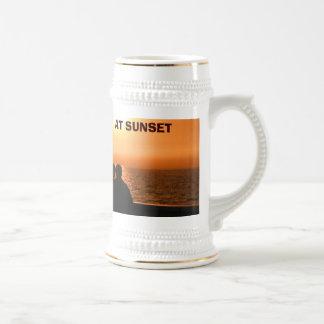 Sunset, AT SUNSET , Moji's Design & Creations  Mugs