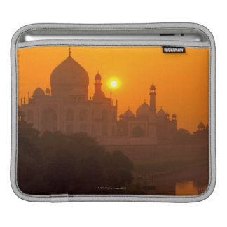 Sunset at Taj Mahal iPad Sleeve