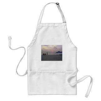 Sunset at the beach aprons