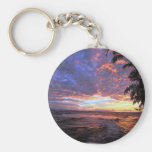 Sunset at the Beach Key Chain