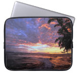 Sunset at the Beach Laptop Computer Sleeves