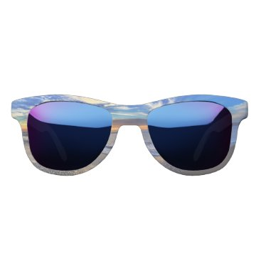 Beach Themed sunset at the beach sunglasses