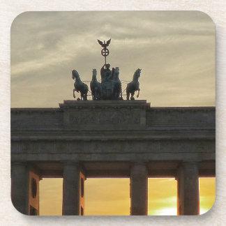 Sunset at the Brandenburg Gate, Berlin Coaster
