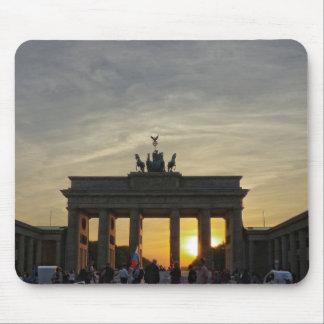 Sunset at the Brandenburg Gate, Berlin Mouse Pad