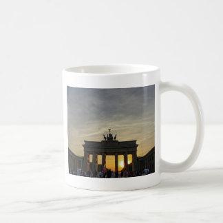 Sunset at the Brandenburg Gate, Berlin Classic White Coffee Mug