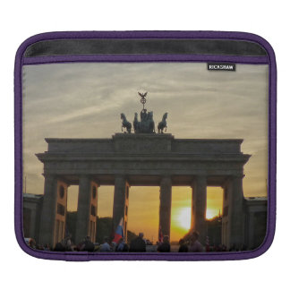 Sunset at the Brandenburg gate, Berlin Sleeve For iPads