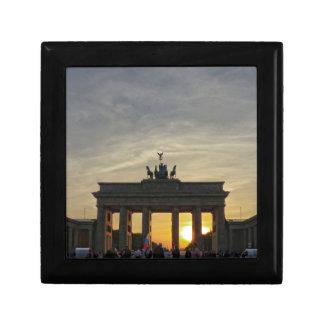 Sunset at the Brandenburger gate, Berlin Gift Box