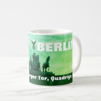 Sunset at the Brandenburger Tor, Berlin Coffee Mug
