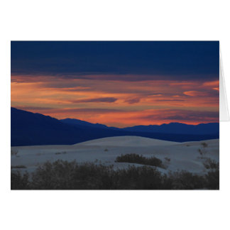 Sunset at the Dunes,  Blank Inside Card