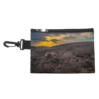 Sunset at the Enchanted Rock Accessory Bag