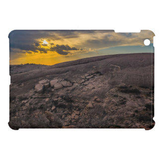 Sunset at the Enchanted Rock Cover For The iPad Mini