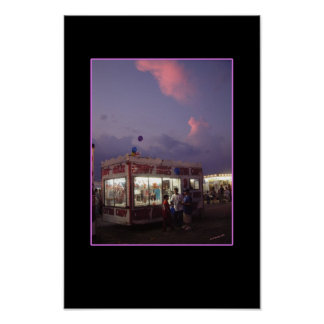 Sunset at the Fair Poster