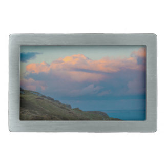 Sunset at the Great Orme Belt Buckle