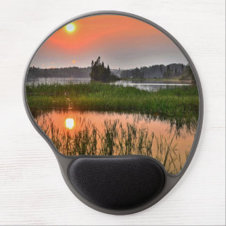 Sunset at the Lake Gel Mouse Pad