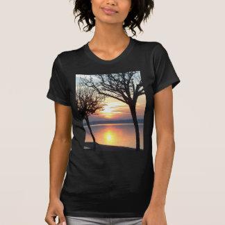 Sunset at the lake T-Shirt