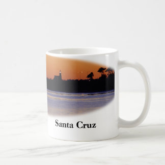 Sunset at the Lighthouse in Santa Cruz - Mug