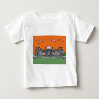 Sunset at the Reichstag building in Berlin Baby T-Shirt