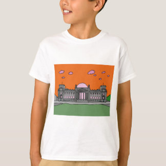 Sunset at the Reichstag building in Berlin T-Shirt