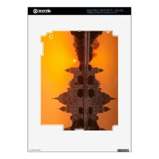 Sunset at the Victoria Memorial iPad 3 Skins