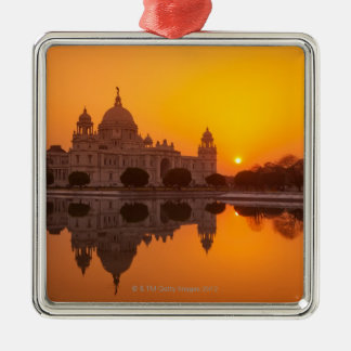 Sunset at the Victoria Memorial Christmas Tree Ornament