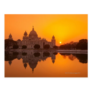 Sunset at the Victoria Memorial Post Cards