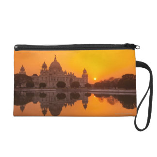 Sunset at the Victoria Memorial Wristlet