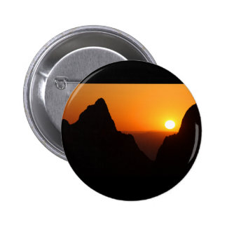 Sunset at the Window 2 Inch Round Button