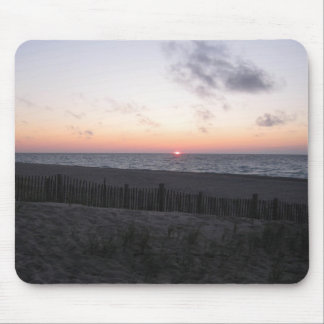 sunset at two-hearted lake, Michigan. Mouse Pad