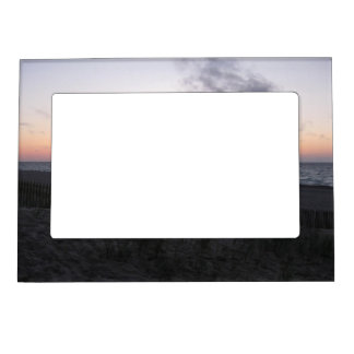 sunset at two-hearted lake, Michigan picture frame Magnetic Photo Frames