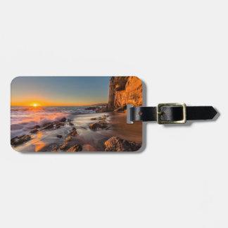 Sunset at Victoria Beach Bag Tag