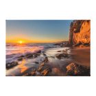Sunset at Victoria Beach Canvas Print