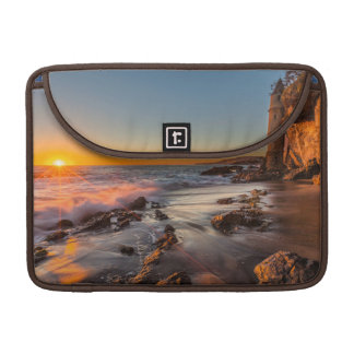 Sunset at Victoria Beach Sleeves For MacBook Pro