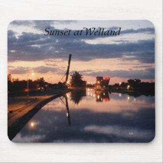 Sunset at Welland mousepad