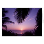 Sunset at West End, Cayman Brac, Cayman Islands, Greeting Cards