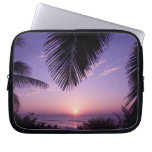 Sunset at West End, Cayman Brac, Cayman Islands, Computer Sleeves