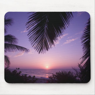 Sunset at West End, Cayman Brac, Cayman Islands, Mouse Pad