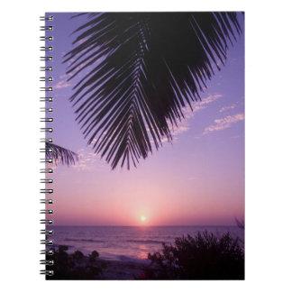Sunset at West End, Cayman Brac, Cayman Islands, Notebook