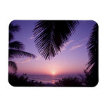 Sunset at West End, Cayman Brac, Cayman Islands, Rectangle Magnets
