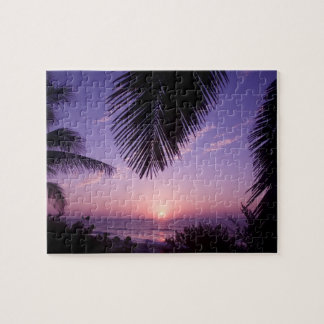 Sunset at West End, Cayman Brac, Cayman Islands, Jigsaw Puzzles