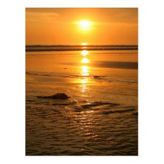 Sunset Bali Postcard