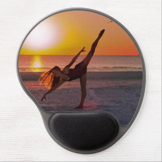 Sunset Ballet Gel Mouse Pad